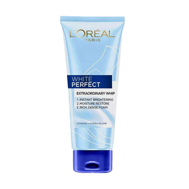 L'Oreal Paris White Perfect EXTRAORDINARY WHIP - DEEP CLEANSING & BRIGHTENING wITH RICE CARE FOAM  (100 ML)