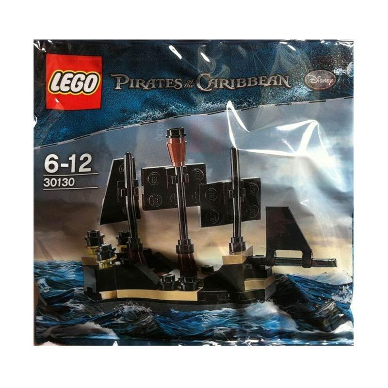 LEGO 30130 Pirates Of The Caribbean Mini Black Pearl Mini Blocks