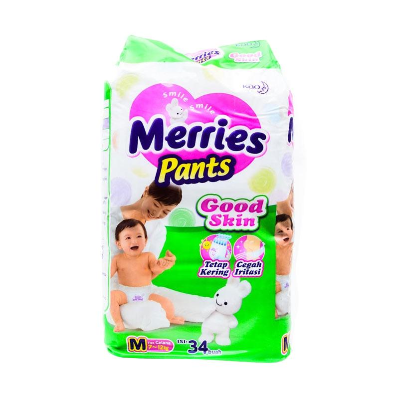 Merries Pants Good Skin Popok Bayi [M/34]