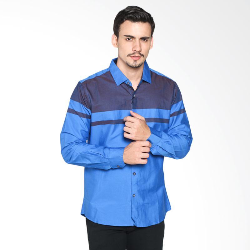Red Cliff ZB4889JF Smart Casual Shirt - Blue Extra diskon 7% setiap hari Extra diskon 5% setiap hari Citibank – lebih hemat 10%