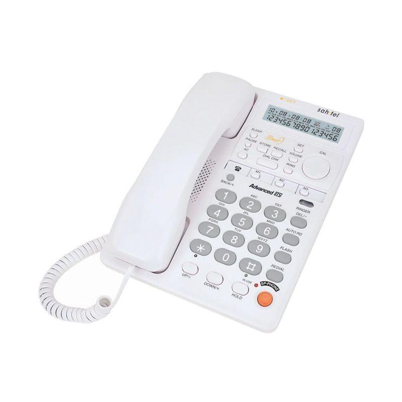 Sahitel S77W Single Line Telepon - White