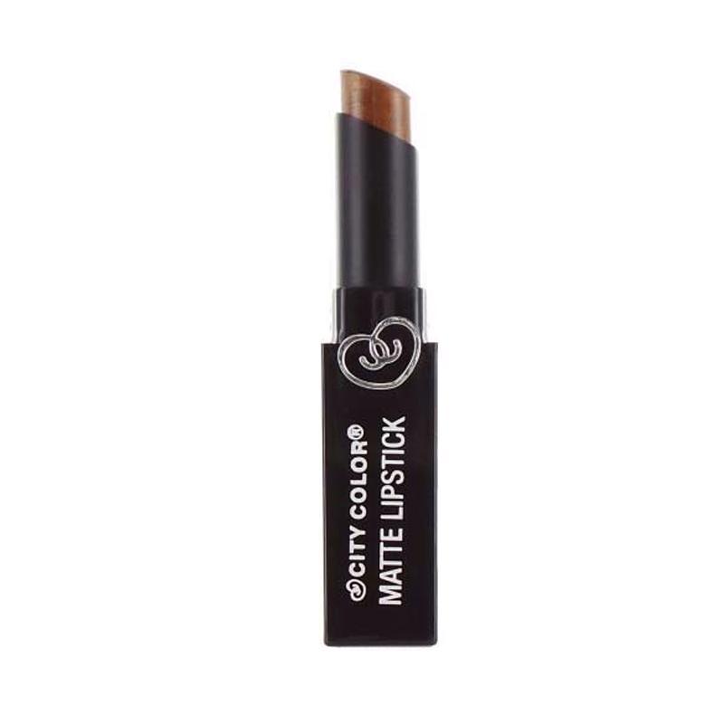 City Color Matte Lipstick - Copper