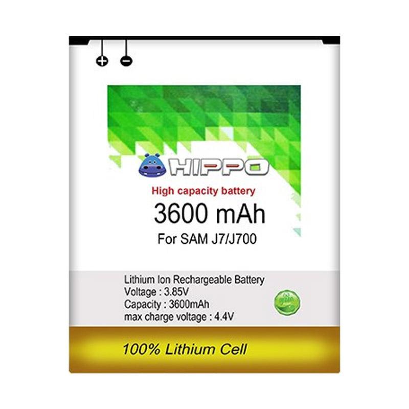 HIPPO Baterai for Samsung Galaxy J7 J700 [3600 mAh]