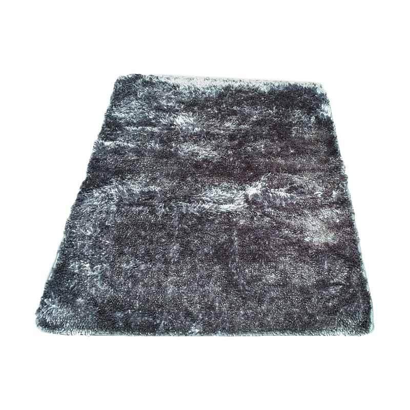 Tren-D-rugs - Karpet Cendol Mengkilat - Abu-abu [100 x 150 cm]