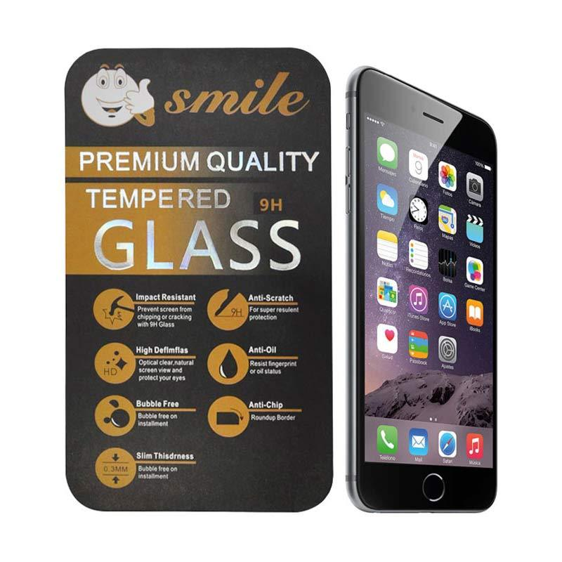 Smile Tempered Glass Screen Protector for Apple iPhone 6 Plus or iPhone 6+