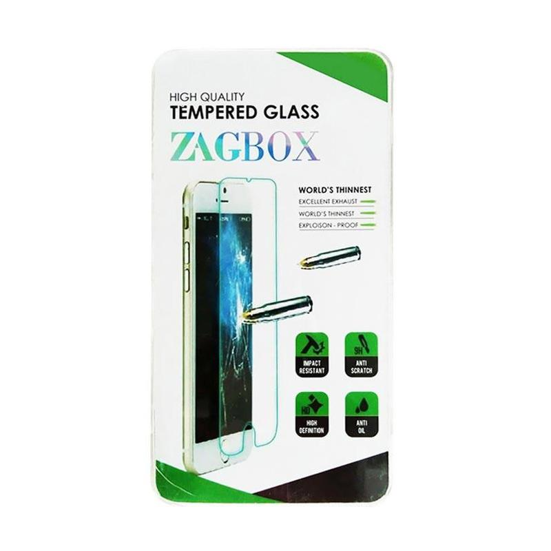 Zagbox Tempered Glass Screen Protector for One Plus X - Clear