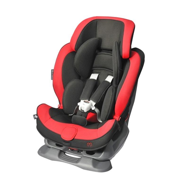 AILEBEBE Swing Moon Premium Car Seat - Graphite Red