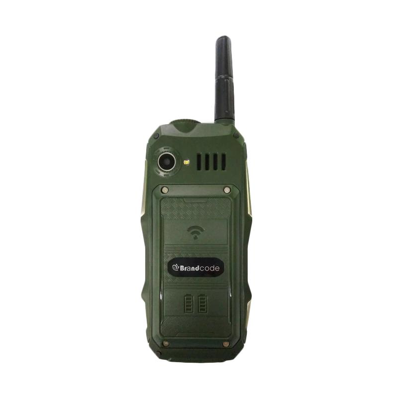 BrandCode B81 Handphone - Hijau [DualS SIM/10000mAh]