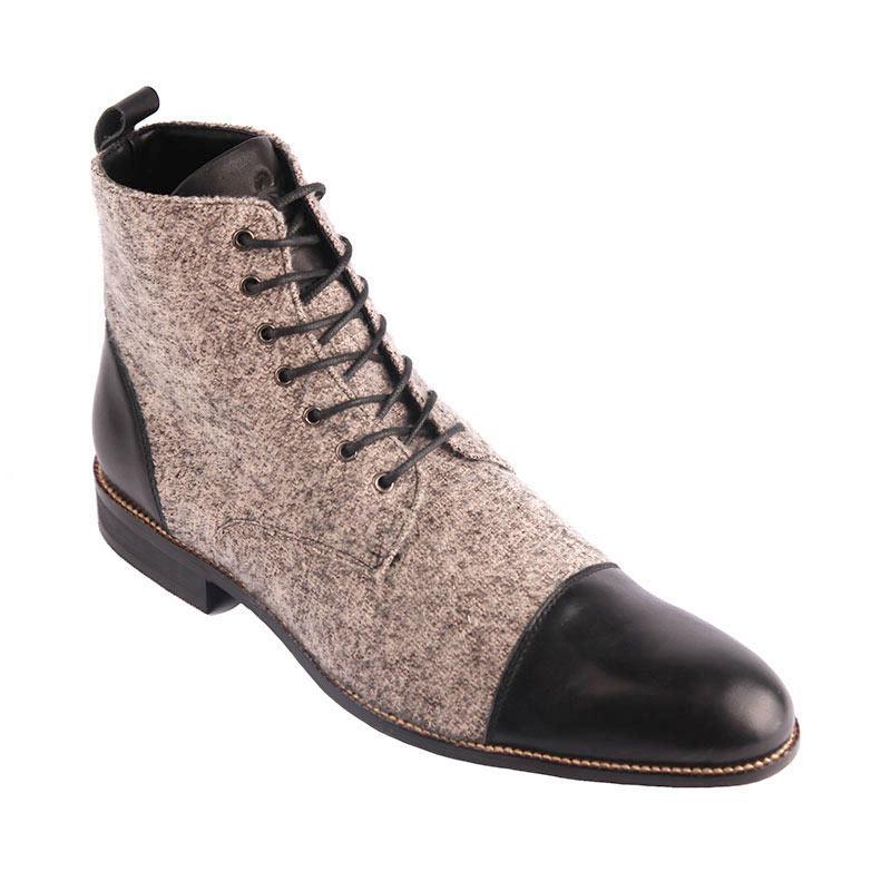 Ftale Footwear Fabrizio Mens Shoes - Grey