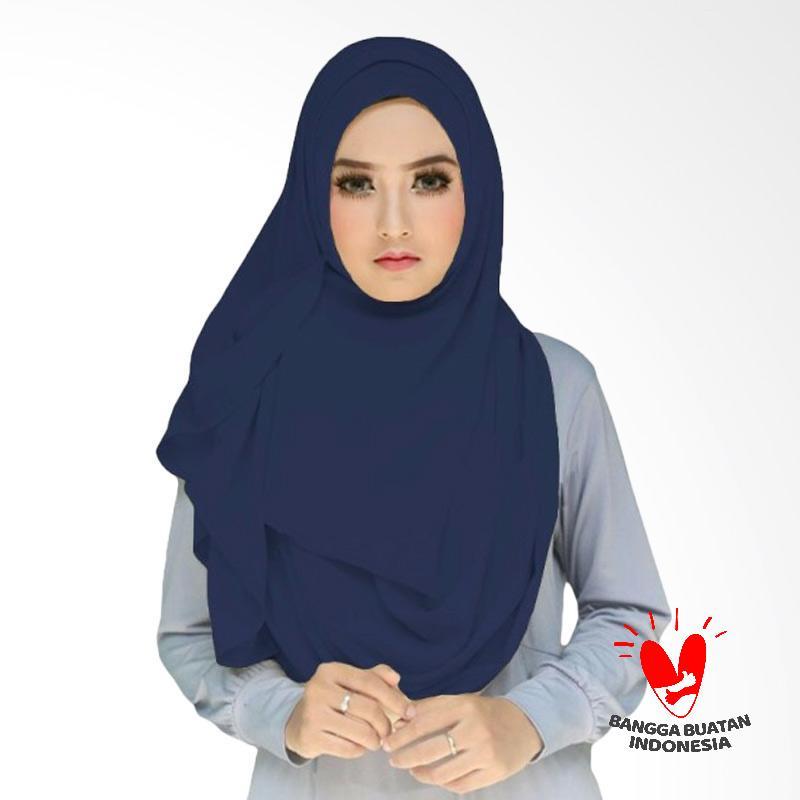 Milyarda Hijab Tazkia Kerudung Instan - Biru Dongker