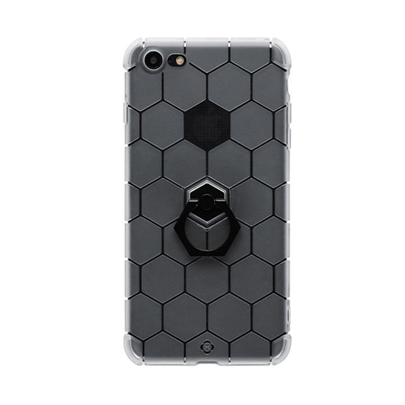 Totu Honeycomb Series Casing for iPhone 7 - Black