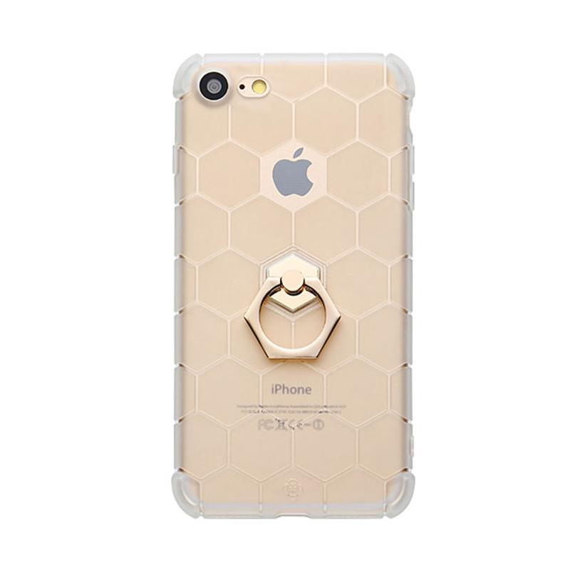 Totu Honeycomb Series Casing for iPhone 7 - Gold