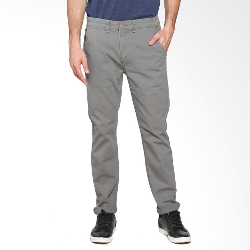 3Ssecond Relaxed Pants 0403 Celana Pria -  Grey 104031713