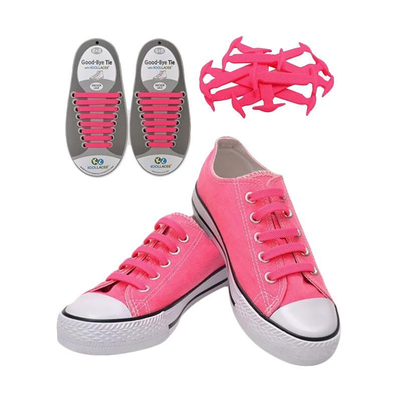 Koollaces Anak Tali Sepatu - Pink Glow