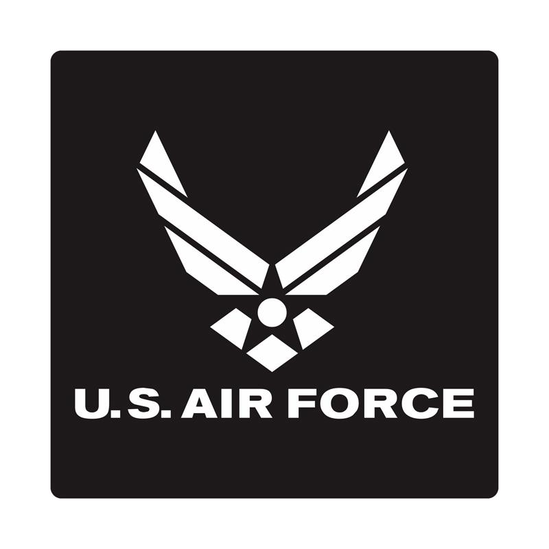 Kyle United States Air Force Cutting Sticker