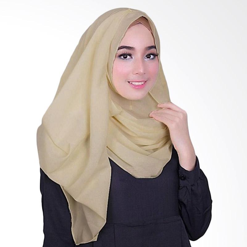 Milyarda Hijab Fusia Jilbab Instant - Cream