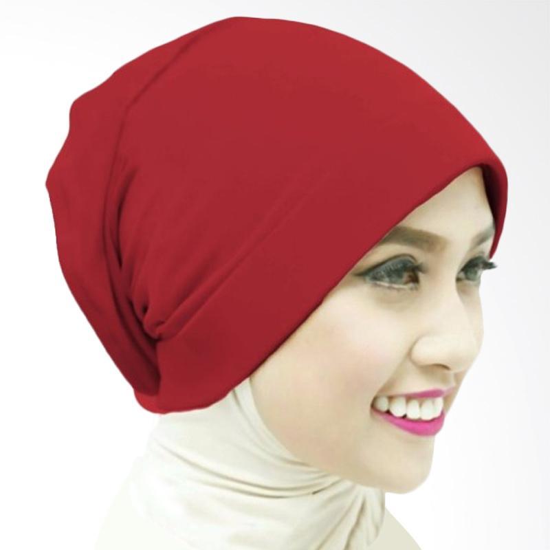Milyarda Naura Hijab Ciput - Maroon