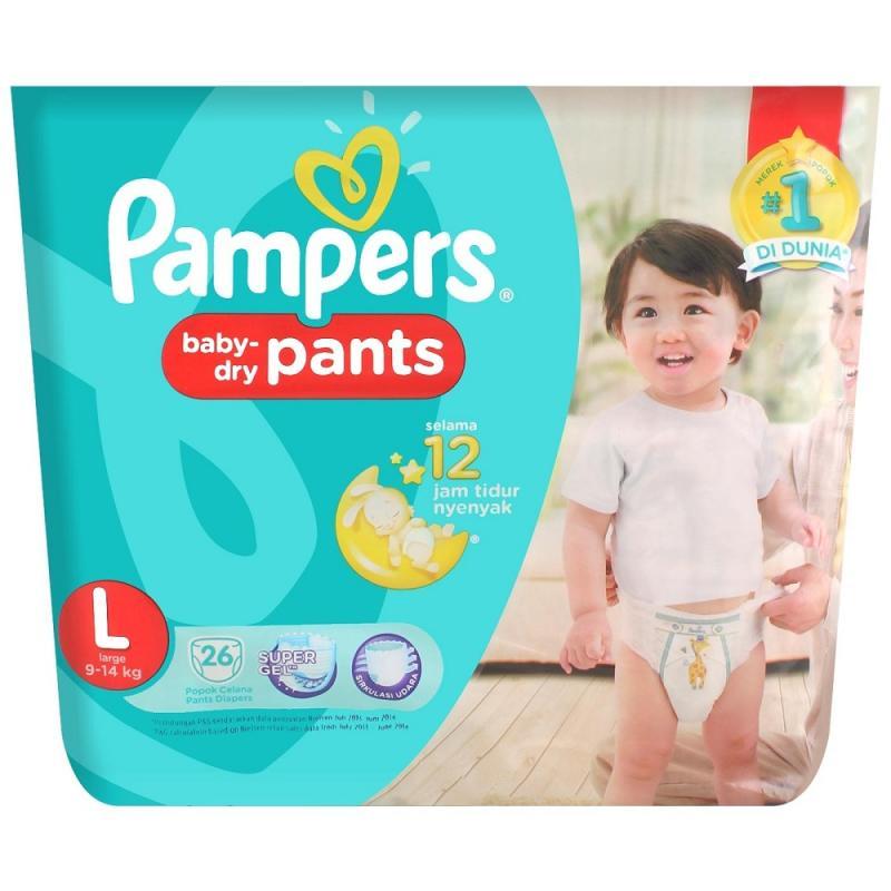 harga Pampers Baby Dry Pants Popok Bayi [L/26S] Blibli.com