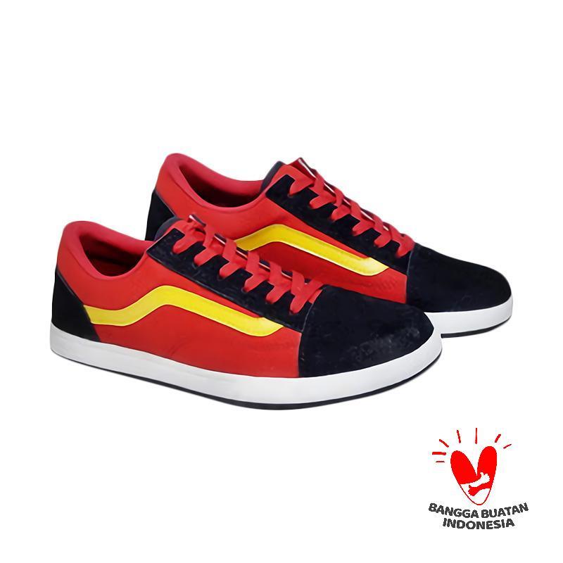 Spiccato SP 560.03 Casual Sepatu Pria - Merah