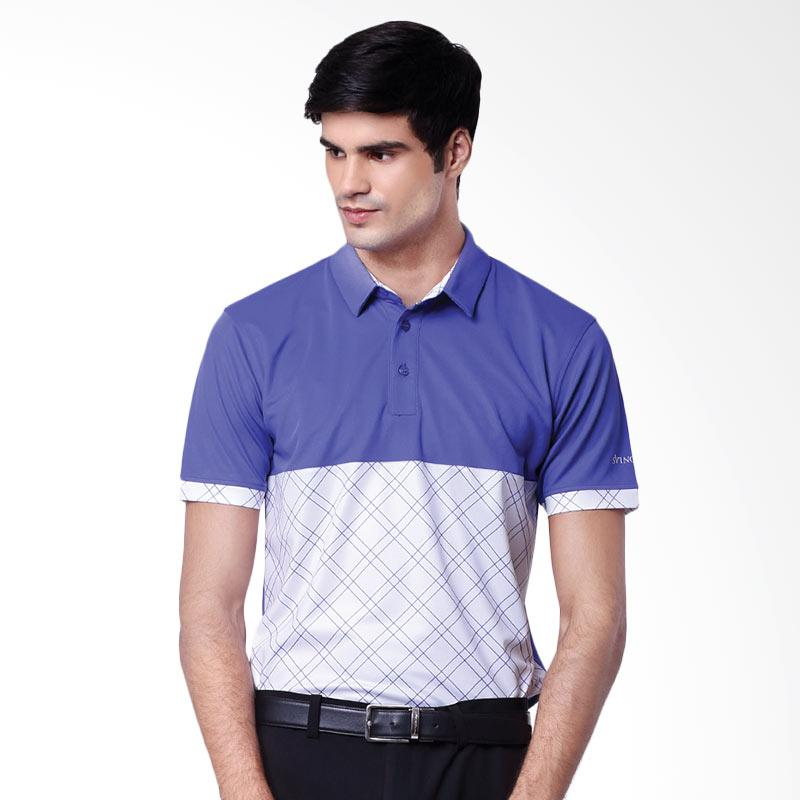 Svingolf Dome Polo Baju Golf - Violet