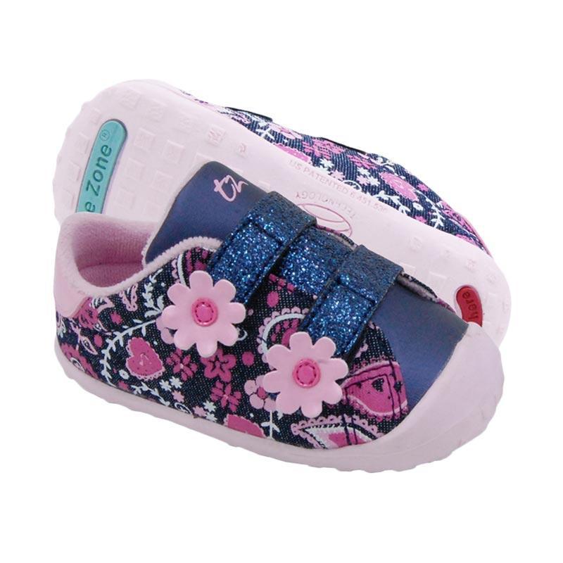Toezone Kids Audra Fs Sepatu Anak - Navy Pink