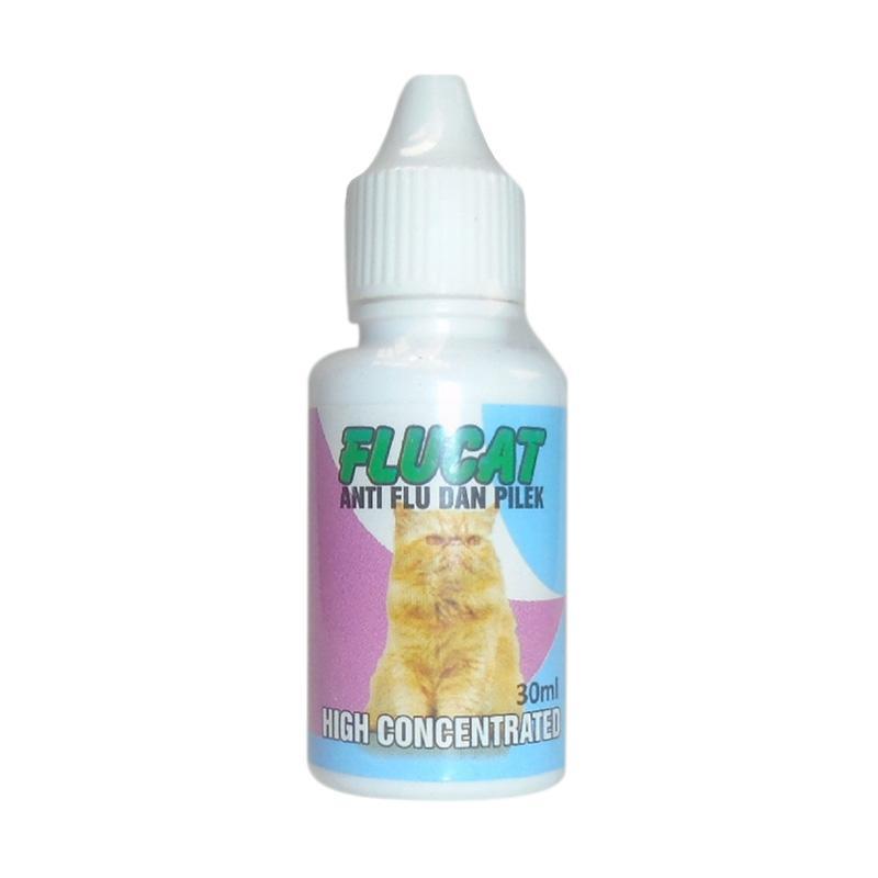 Wisnutapa Flucat Obat Anti Flu Dan Pilek Untuk Kucing 30 mL