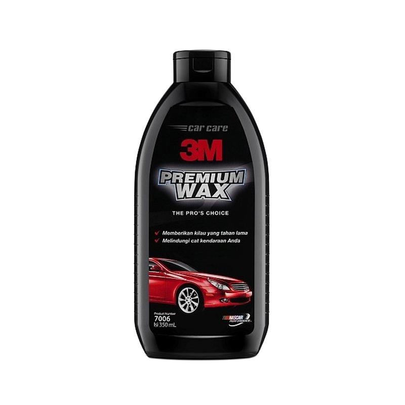 3M Premium Wax Cat Mobil Pengkilap Cat Mobil [350 mL]