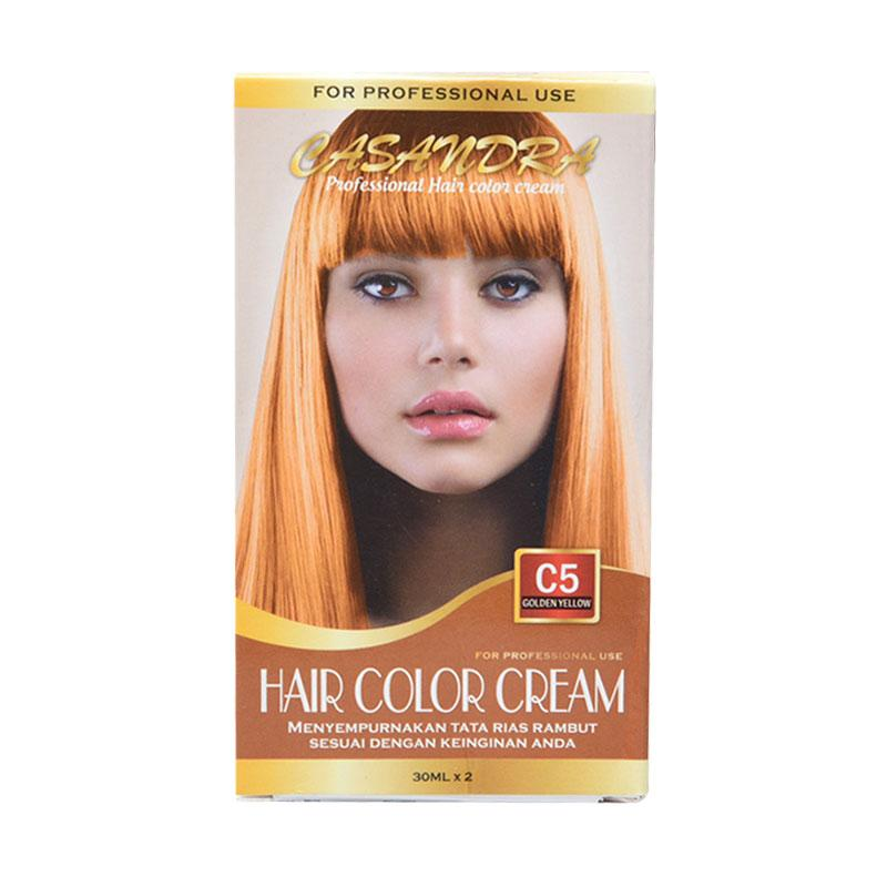 Casandra C5 Hair Color Cream - Golden Yellow