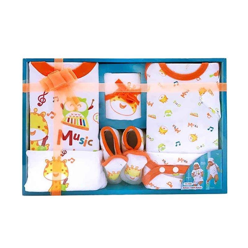 Chanel7 Kiddy Baby Gift Set Pakaian Bayi - Orange