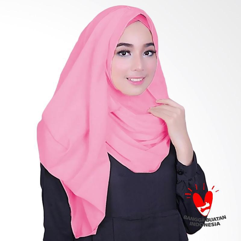 Milyarda Hijab Fusia Jilbab Instant - Pink