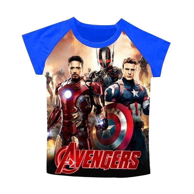 Wonderland J2 Avengers Tshirt - Blue