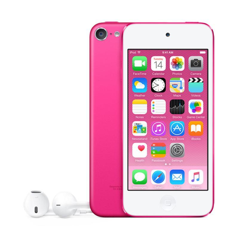 harga Apple iPod Touch 6 64 GB Portable Player - Pink Blibli.com