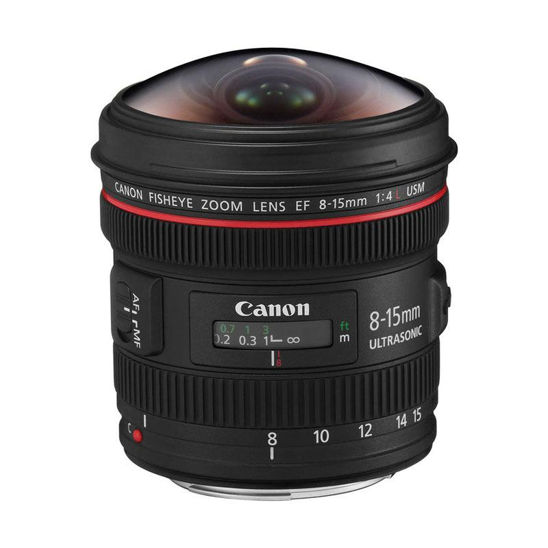 Canon Lensa EF 8-15mm f/4 Fish Eye