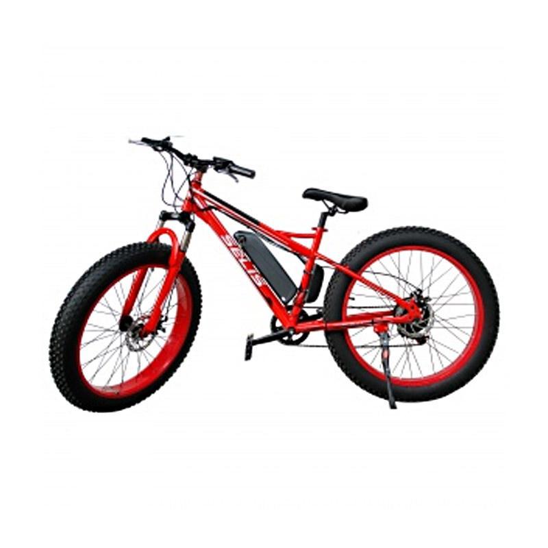 Selis Type Monster Sepeda Listrik - Red