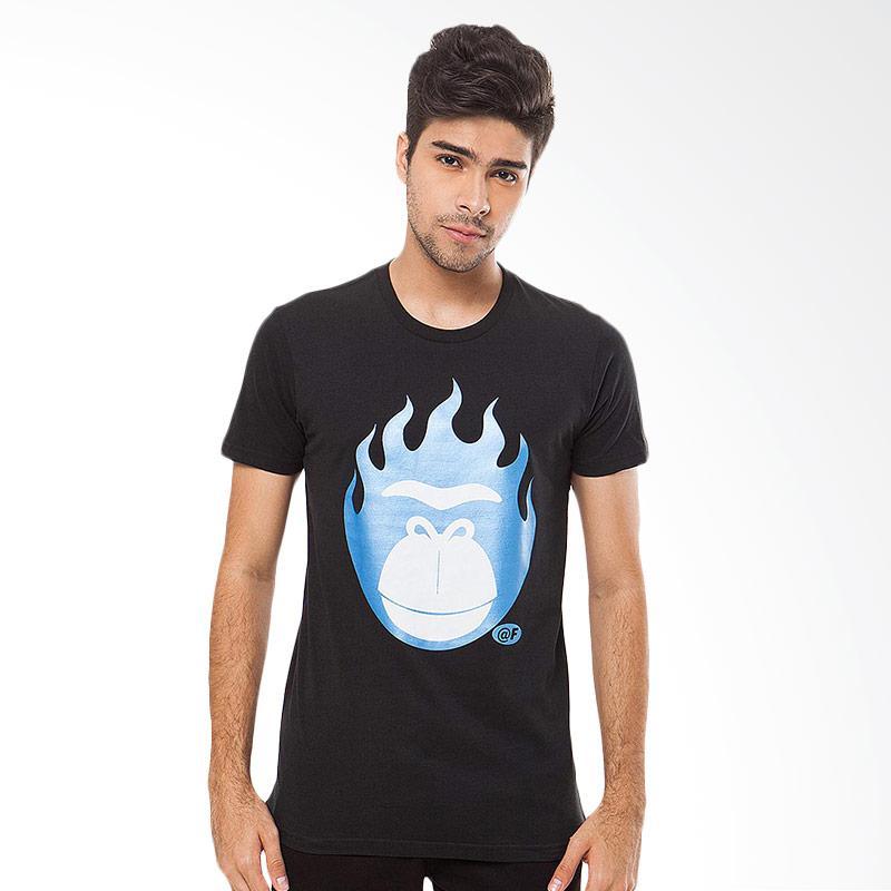 FREERIDE Fire Kong Tee T-Shirt Pria - Blue Extra diskon 7% setiap hari Extra diskon 5% setiap hari Citibank – lebih hemat 10%