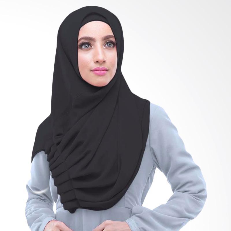 Kus_group Alya Hijab Instant - Hitam