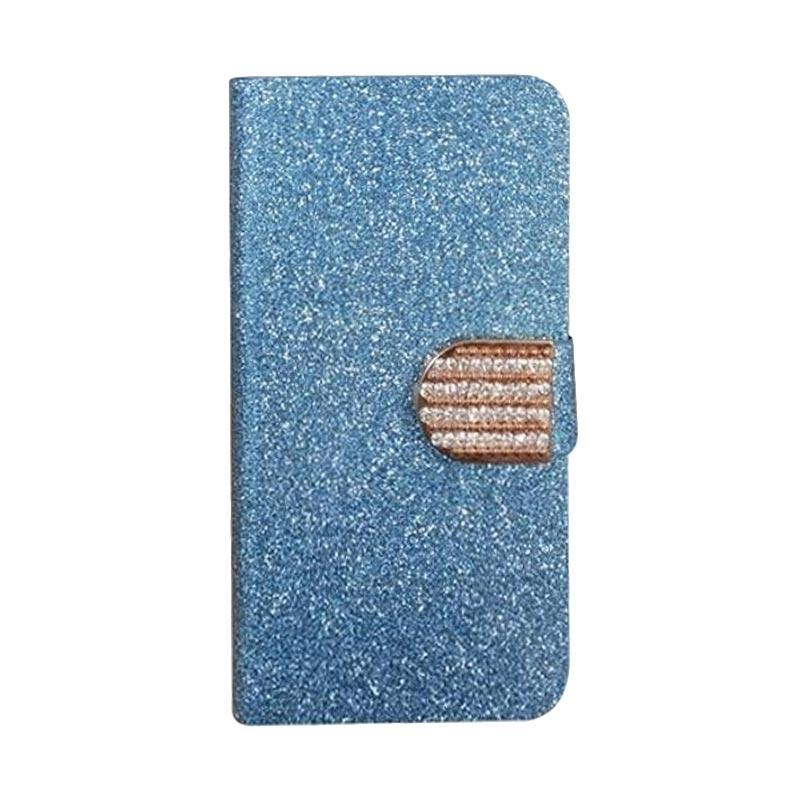 OEM Case Diamond Cover Casing for TCL S530T - Biru