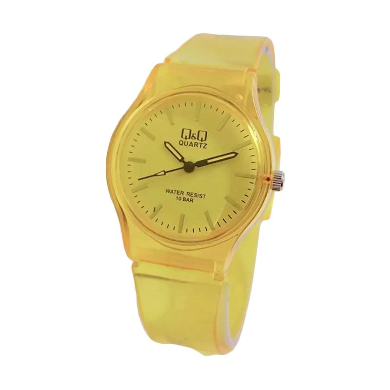 Q&Q Small Colorful Leather Watch