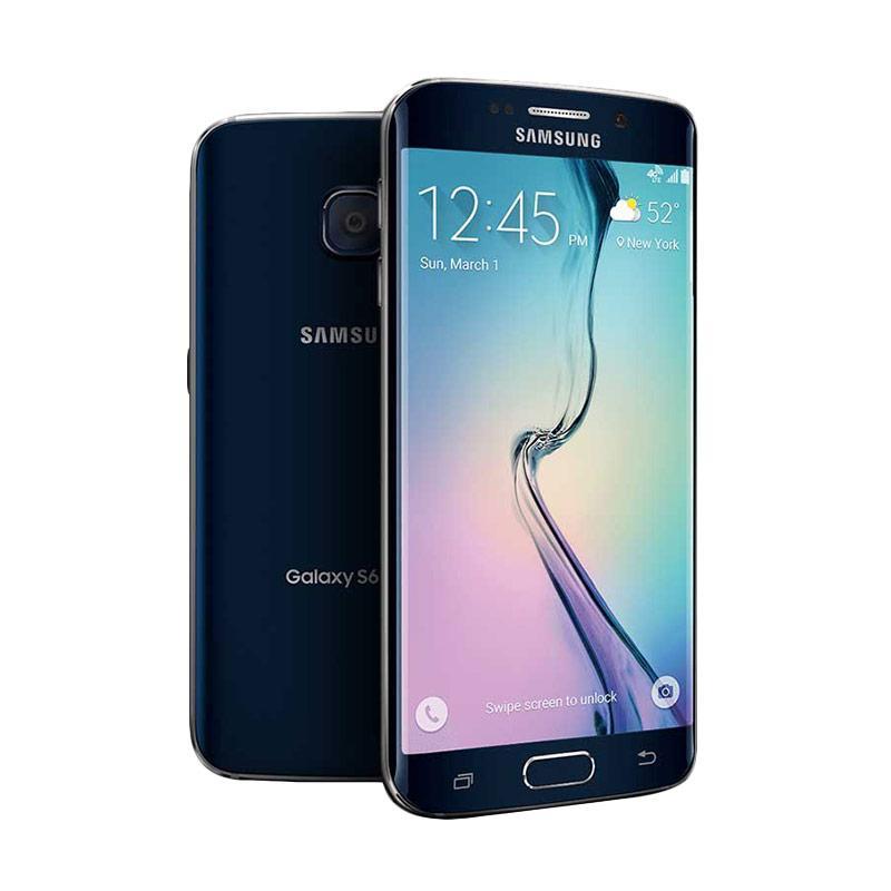 Samsung Galaxy S6 Edge Smartphone - Black Sapphire [64GB/ 3GB]