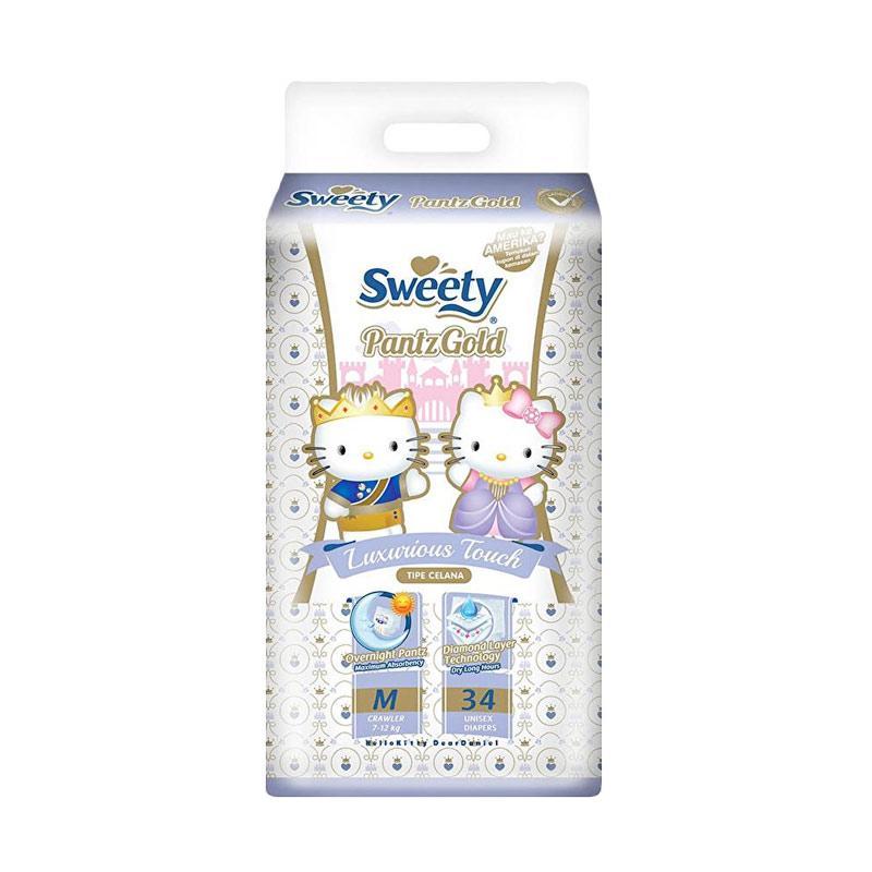 Sweety Pantz Gold Popok Bayi [Size M]