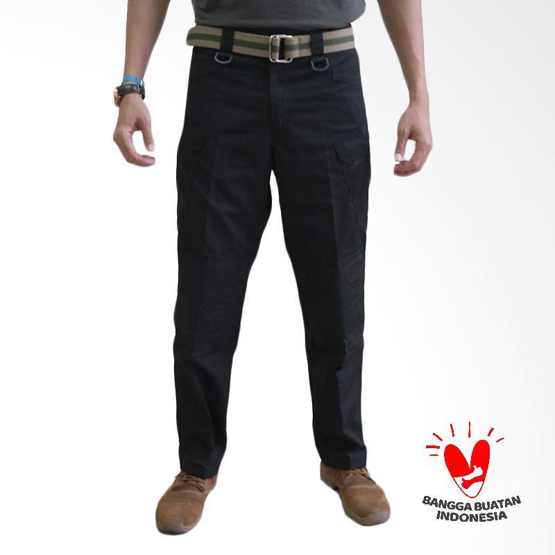 Tactical Black Hawk Celana Panjang Pria - Hitam