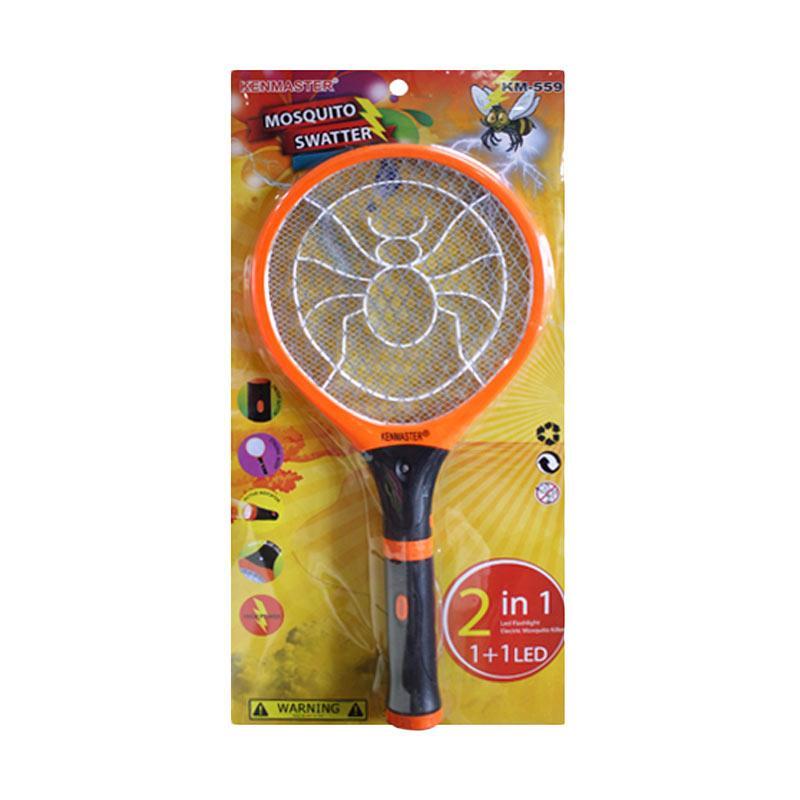 Jual KENMASTER KM 559 Mosquito Swatter Online - Harga & Kualitas Terjamin | Blibli.com