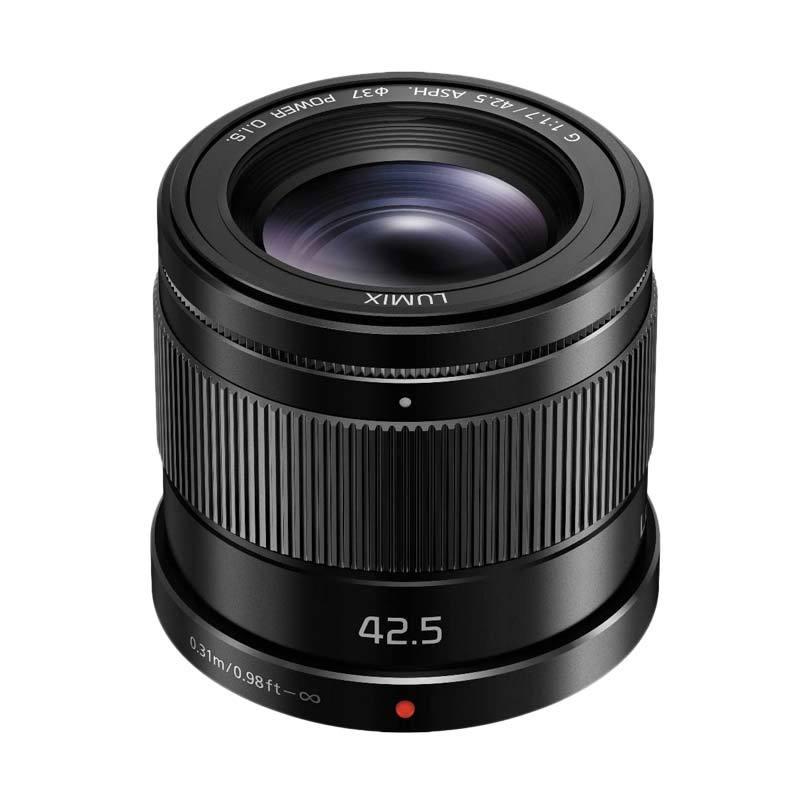 Panasonic Lensa 42.5mm f/1.7 ASPH
