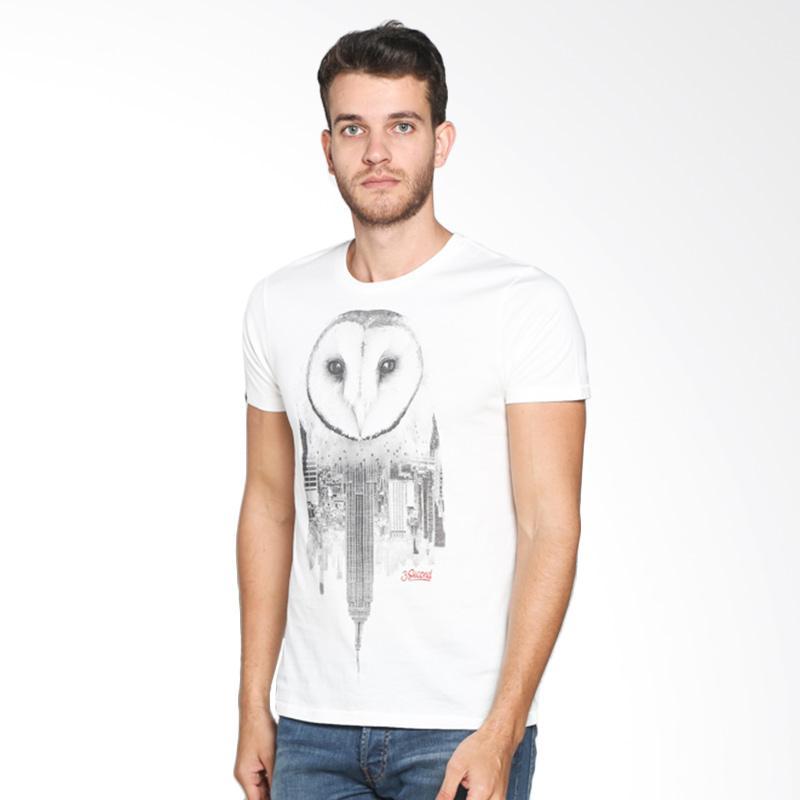 3 Second 130111612 Men Tshirt - Cream