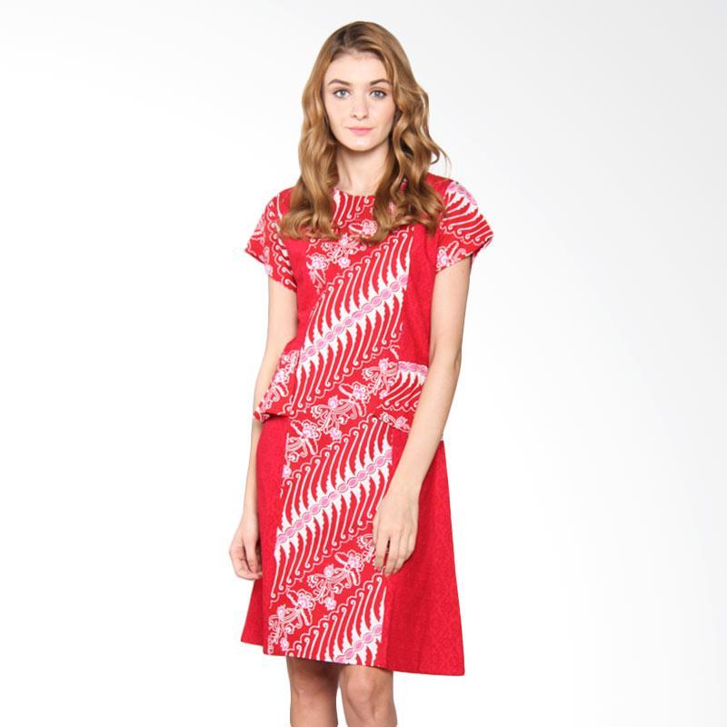 Djoemat Gembira D17-01-07 Prambanan in Dress - Red