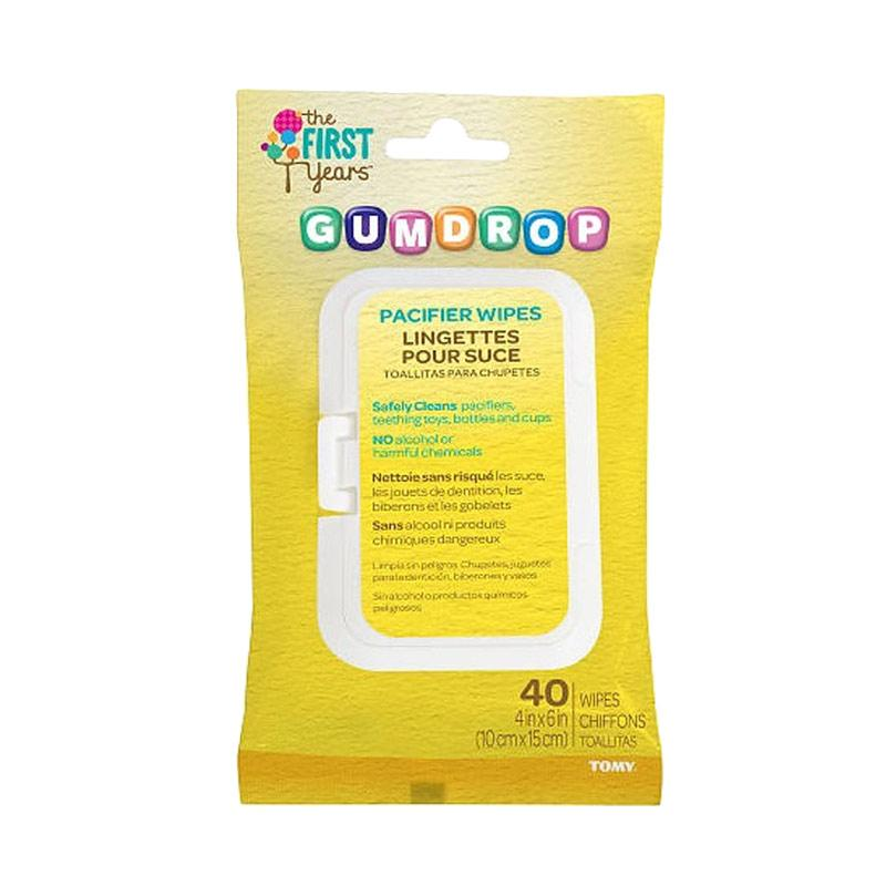 The First Years Gumdrop Pasific Wipes Tissue Basah [40 sheets]