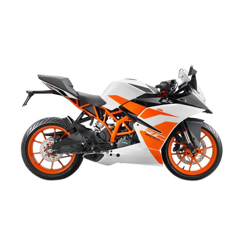 harga KTM RC 200 Sepeda Motor - White Orange Blibli.com