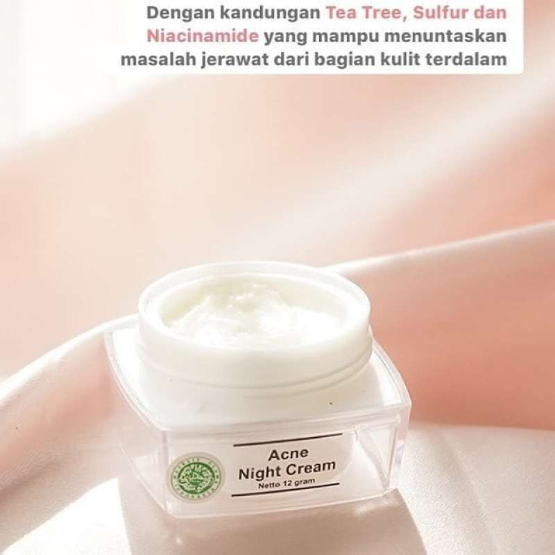 4 Jenis Produk Cream MS Glow Malam
