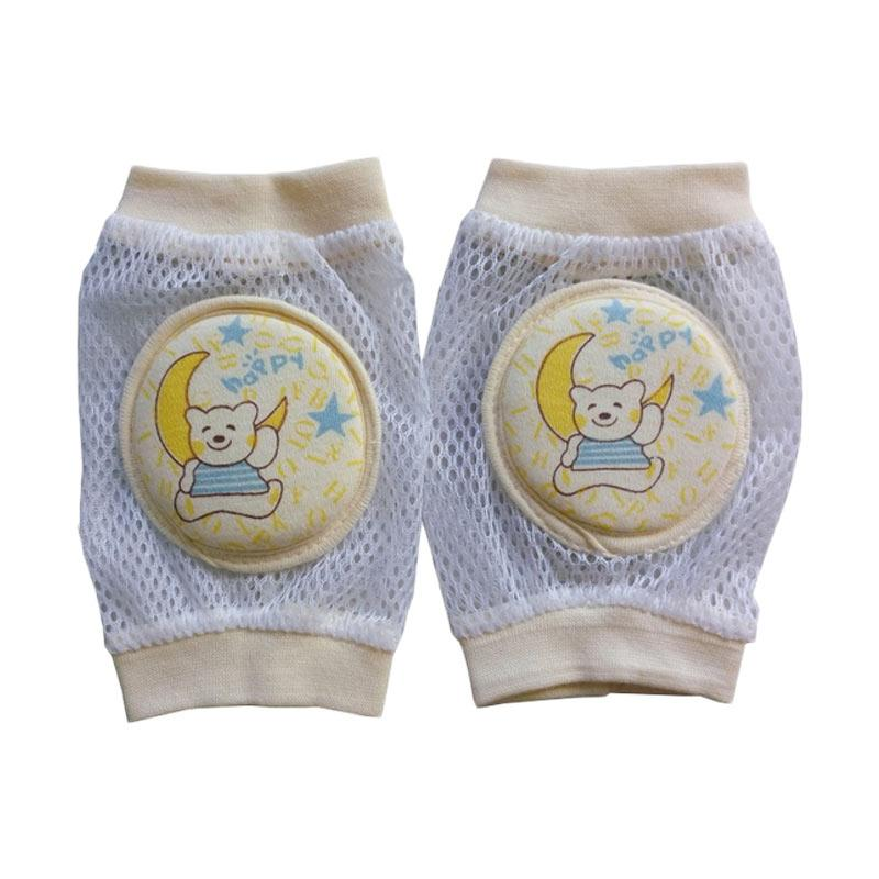 MOM Baby Knee Protector Breathable Girl Pelindung Lutut Bayi - Yellow