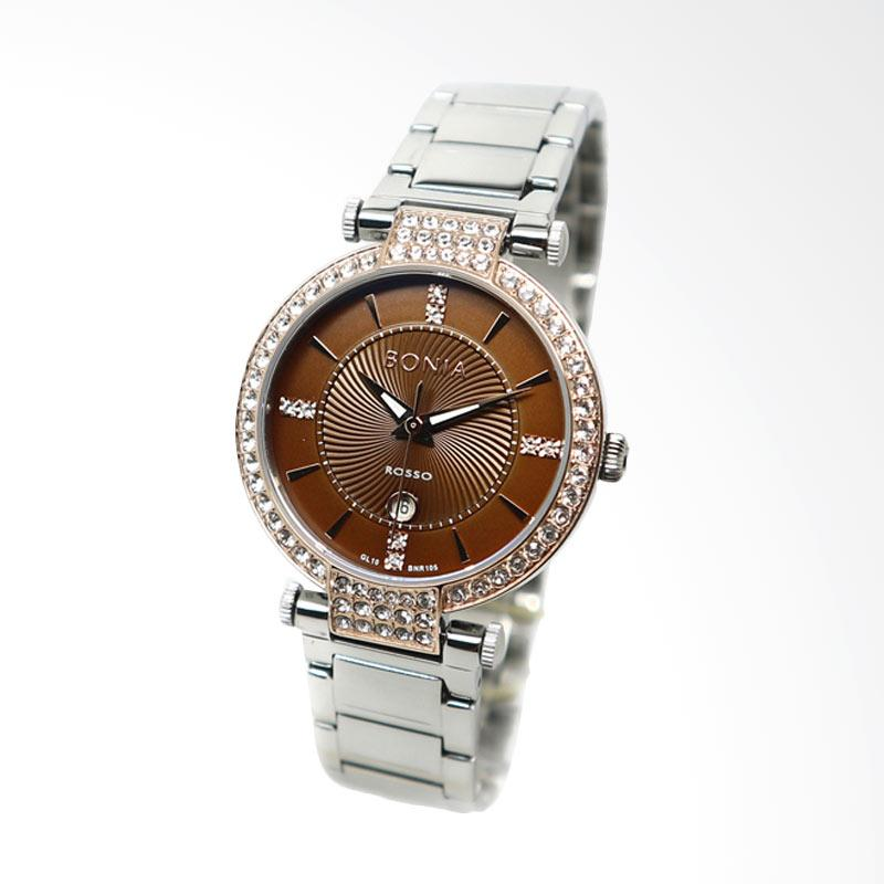 Bonia BNR105-2342S Jam Tangan Wanita - Silver
